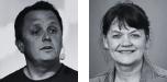 Lena Langlet, sektionschef för demokrati, ekonomi och styrning (Sveriges kommuner och regioner) och Martin Sande, konsult och senior samtalsledare, grundare av företaget Dialogues